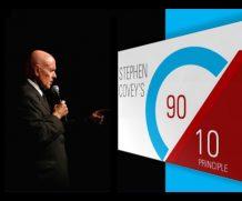 O princípio 90/10 de Stephen Covey Pode mudar a sua vida!